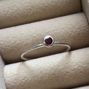 Silpada July Birthday Ring Size 8